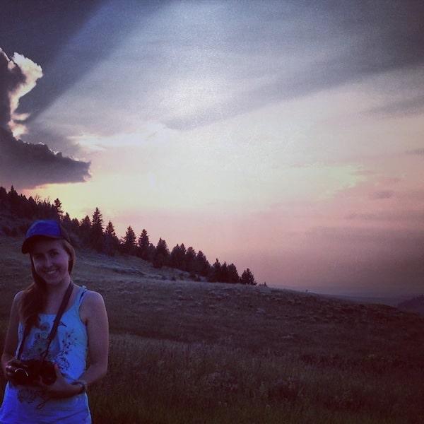 Hannah Jaicks_Flying D Black Bear Dens Howling Wolves and Me_Sunset
