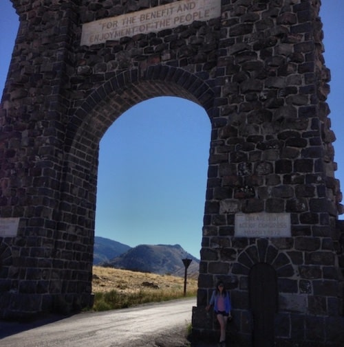 Hannah Jaicks_Research Outdoor Adventures and Yellowstone_Roosevelt Arch