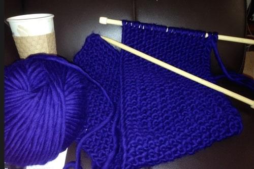 hannah jaicks creative pursuits coffee knitting projects